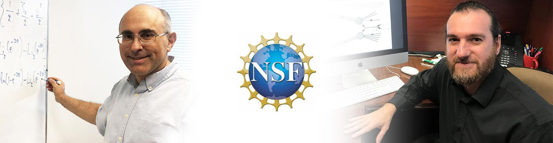 NSF grants awarded to Theoretical Particle Physicists