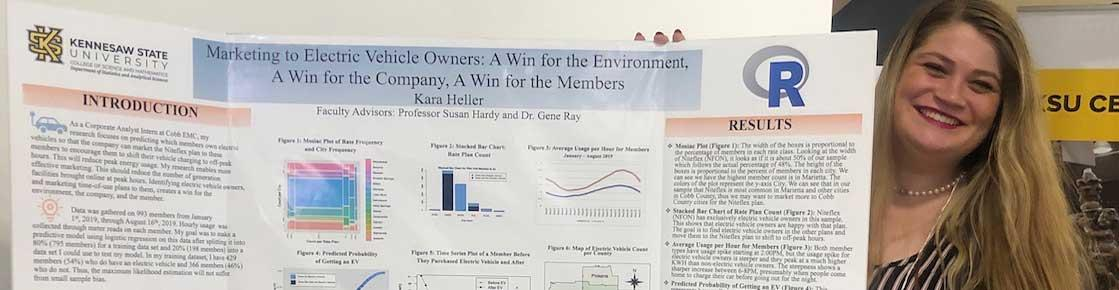 KSU Alumna Presents Research at Posters on the Hill Virtually
