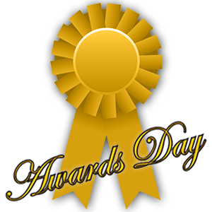 Awards Day ribbon graphic