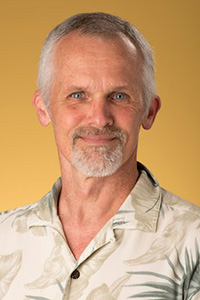 Photo of Biology Professor Bill Ensign