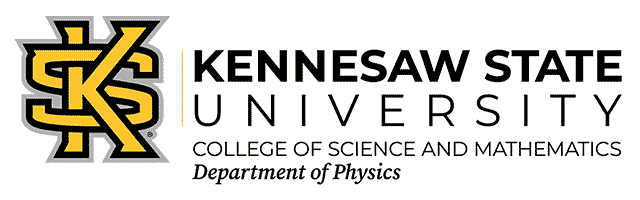 Department of Physics at Kennesaw State University logo