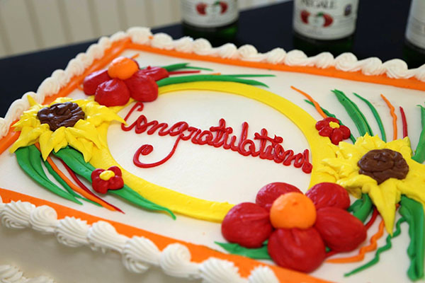 Photo of Congratulations cake