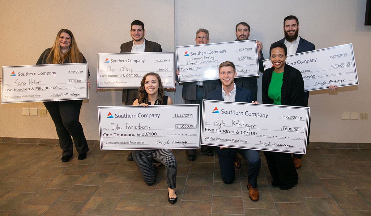 Kennesaw State University 'R' Day graduate and undergraduate winners