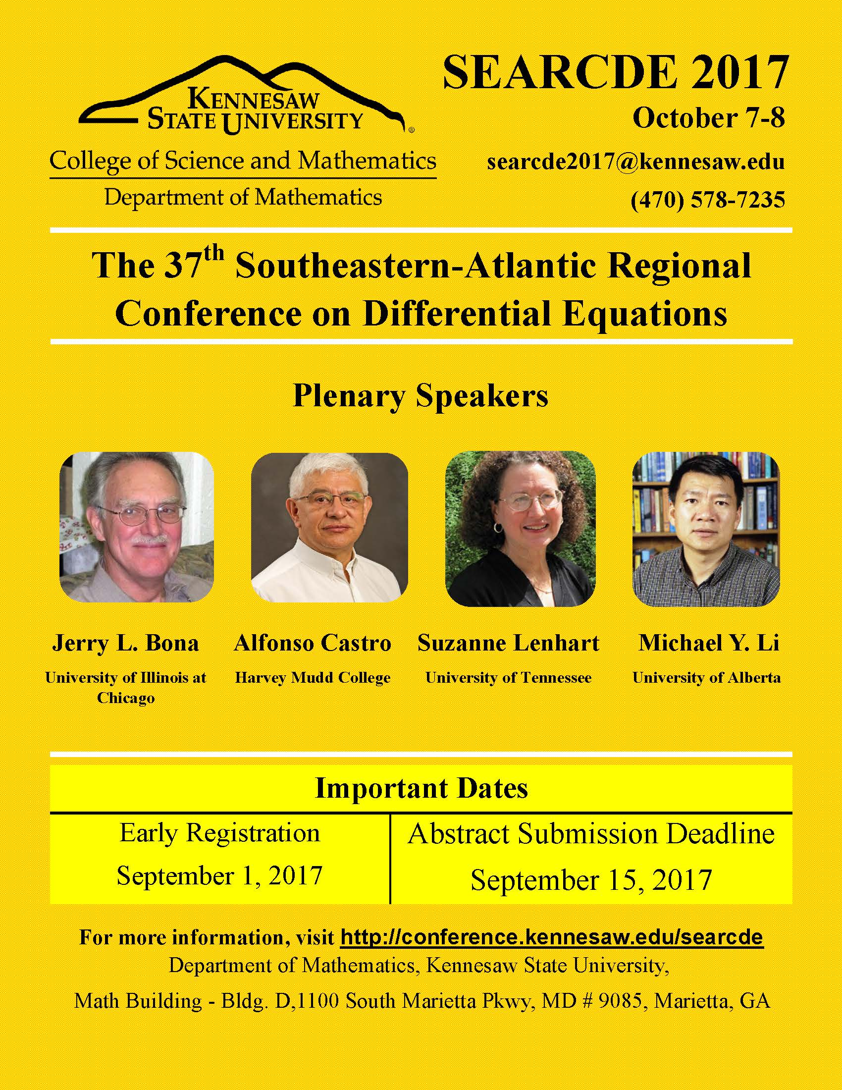SEARCDE 2017 Conference Poster