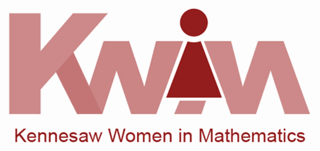 Kennesaw Women in Mathematics (KWIM) logo