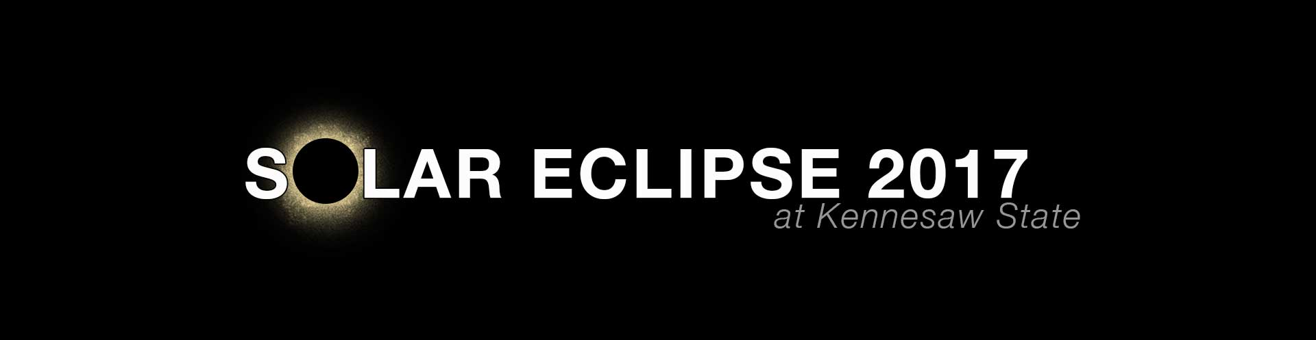 Solar Eclipse at Kennesaw State