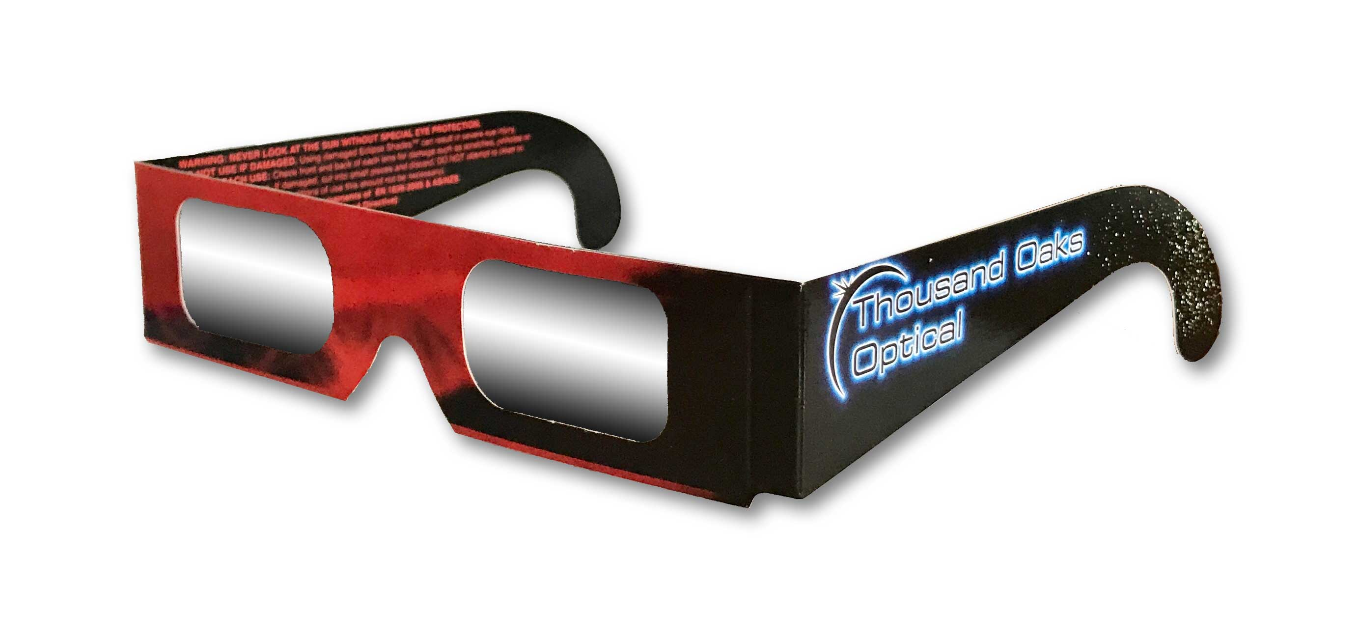 Photo of solar eclipse glasses
