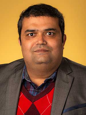Photo of Chetan Dhital, Assistant Professor of Physics