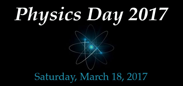 Physics day 2017 graphic