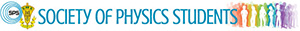 Society of Physics Students student organization logo
